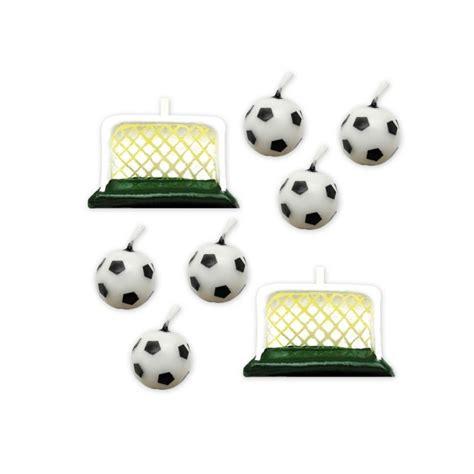 candele per torte di compleanno candele calcio per torte