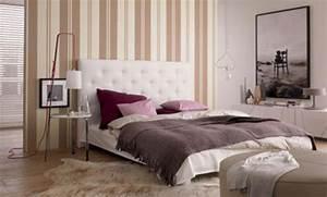 Tapeten Im Schlafzimmer : tapete im schlafzimmer ~ Michelbontemps.com Haus und Dekorationen