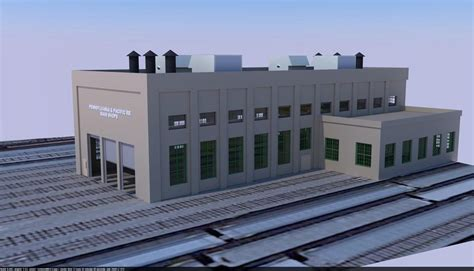 Modern Scale Engine House Gauge Railroading Line