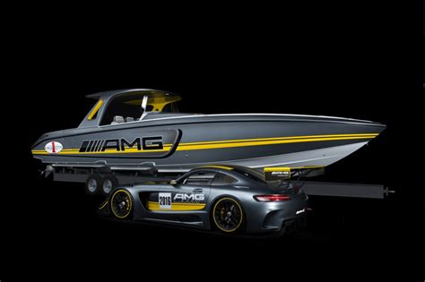 Cigarette Racing Boat Amg by Image Cigarette Racing 41 Sd Gt3 Boat And 2016 Mercedes
