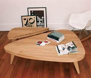 Table Basse Scandinave Vintage : table basse vintage esprit scandinave hansen family sentou edition ~ Teatrodelosmanantiales.com Idées de Décoration