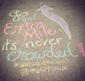 Go the Extra Mile (With images) | Chalkboard quote art ...