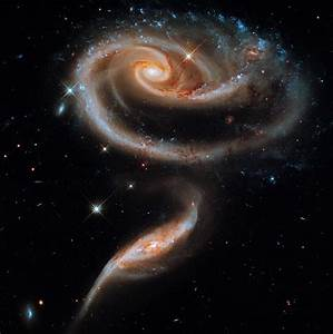 Galactic Waltz The interplay of their gravitational forces ...