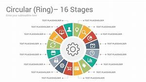 Circular Ring Diagrams Keynote Template Designs
