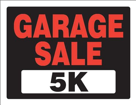 Garage Sale Register by The Garage Sale 5k