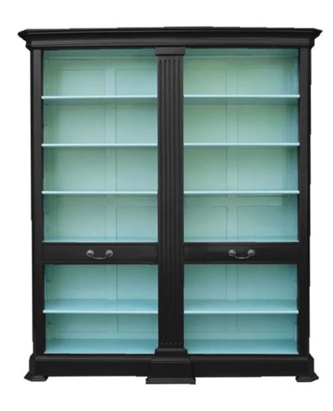 Black Bookshelf With Doors by Wow Do This With An Ikea Billy Bookcase With Glass Doors