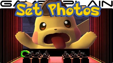 Detective Pikachu Set Photos Reveal The Movie's Pokémon