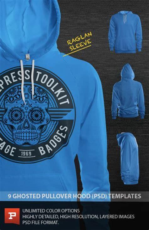 Hoodie Design Template Psd by Photorealistic Custom Raglan Sleeve Pullover Hoodie