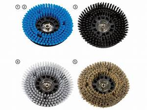 Rotary cleaning brushes, Ø200 mm SPARKY eu