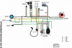 Bycke Diagram Honda : 110cc basic wiring setup atvconnection com atv enthusiast ~ A.2002-acura-tl-radio.info Haus und Dekorationen