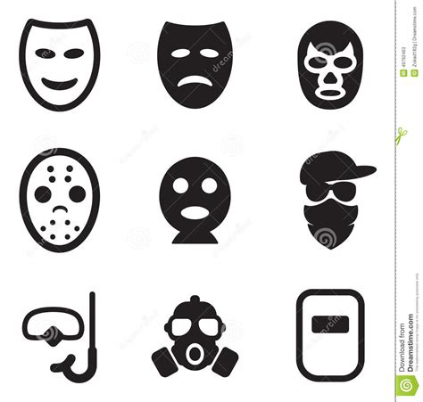 Boat Without Mask Clipart by Mask Icons Stock Vector Image 49792463