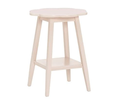 pottery barn accent table ls