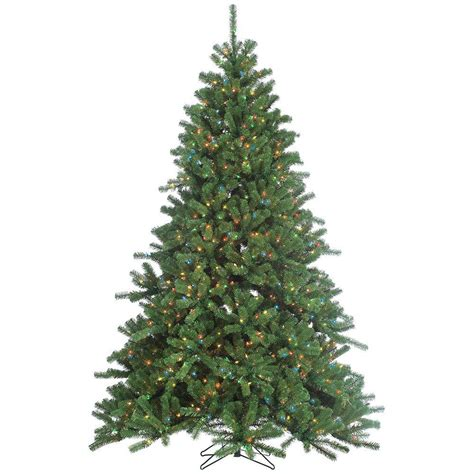 sterling 7 5 ft pre lit grand canyon spruce artificial