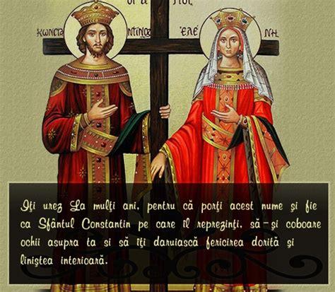 La multi ani tuturor celor care poarta aceste nume! Trimite felicitare: La multi ani!   405   Felicitari de Sf Constantin si Elena pe Kudika