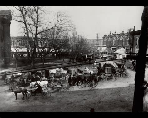this turn of the century photo is a view from the