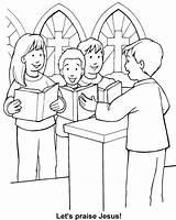 Worship Coloring Bible Sunday Pages Sheets Activities God Pastor Appreciation Church Sing True Christmas Crafts Jesus Glory Childrens Verdadera Adoracion sketch template