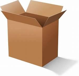 Carton De Déménagement Gratuit : clipart bo te en carton vector clipart vecteur libre ~ Premium-room.com Idées de Décoration
