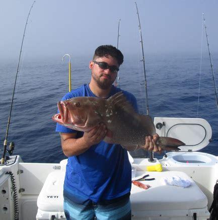 fishing charters myers beach grouper coral cape florida ft revenge reel