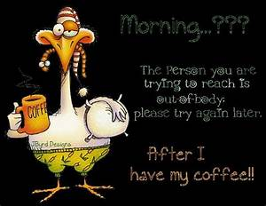 Funny Morning Coffee Clip Art | Good Morning With Coffee ...