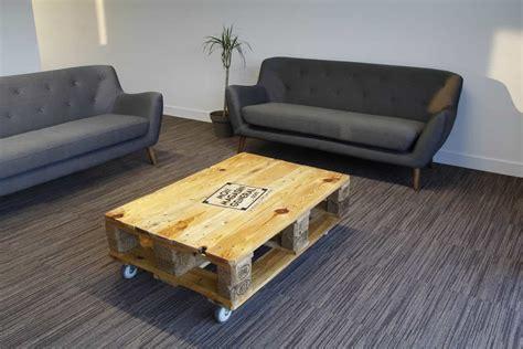 table basse palette comment fabriquer une table basse en palette notre tuto