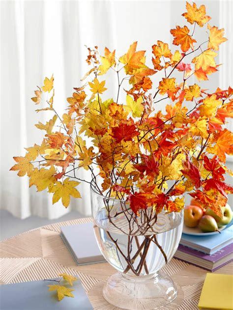 Deko Blätter Herbst by Dekoideen Herbst Bringen Sie Den Herbst Nach Hause
