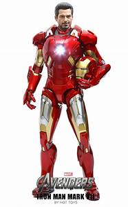 Avengers Hot Toys Iron Man Mark VII Movie Masterpiece ...