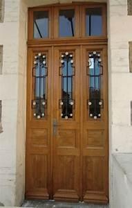 porte double vantaux With porte d entrée double vantaux
