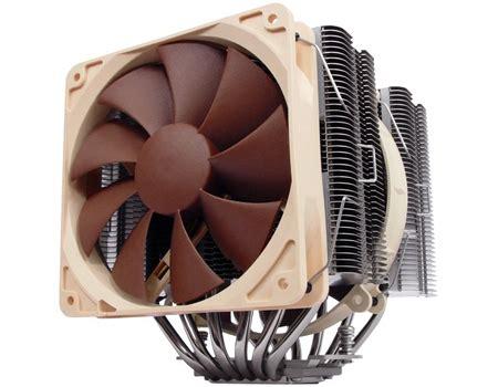 noctua 14 series 120mm fan noctua shows off range topping nh d14 cpu cooler