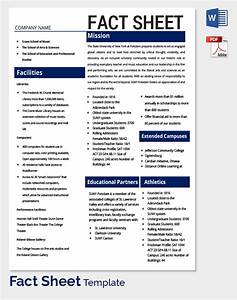 fact sheet template 32 free word pdf documents With health fact sheet template