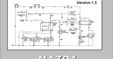 Mazda 323 Wiring Diagram Free by Mazda Electrical Wiring Diagram Workbook Wiring Diagram