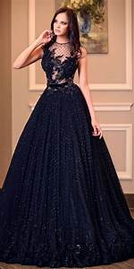 20 beautiful black wedding dress ideas With black gowns for wedding