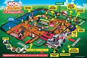 Image result for festival map | Stunts, Festival, Activities