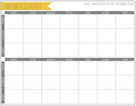 2 week calendar template 6 best images of printable schedule week 2 2015 nfl schedule week 2 printable 2 week planner