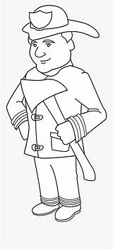 Firefighter Coloring Fire Fighters Clipart Kneeling Clipartkey Helmet sketch template
