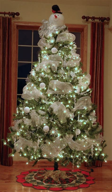 make a snowman out of a christmas tree craft projects