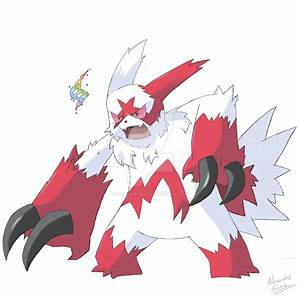 Mega Zangoose by AlexandreSerra on DeviantArt