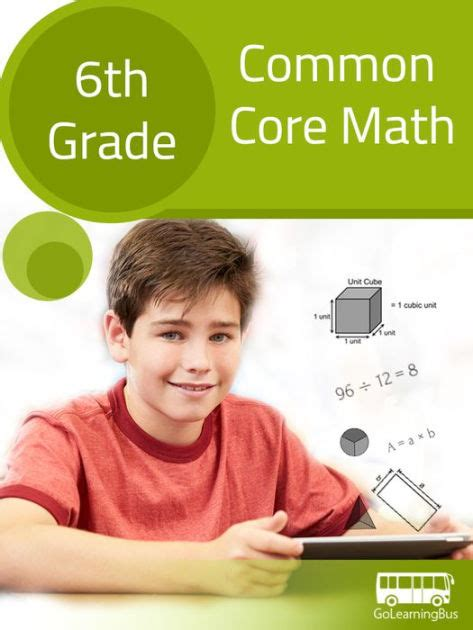 6th Grade Common Core Math By Golearningbus By Kalpit Jain  Nook Book (ebook)  Barnes & Noble®