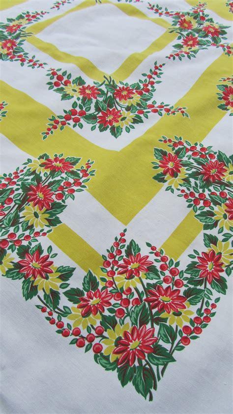 1000 images about vintage tablecloths on pinterest