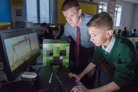 microsoft acquires teachers version  minecraft