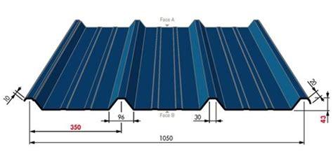 tole de couverture t 244 le acier ou galvanis 233 3 350 43 r 233 f couverture et bardage couverture espace po 234 le