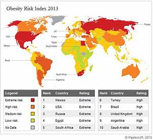 Verisk Maplecroft | Obesity poses highest workforce risk ...