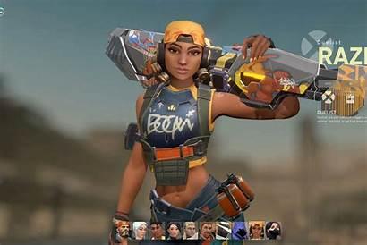 Valorant Raze Agent Beta Riot Player Closed