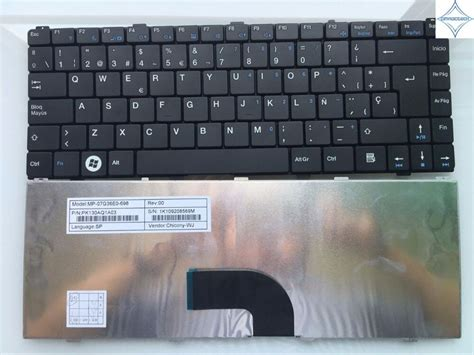 new for benq joybook s43 s46 dh1404 intelbras i1000 i1030 sp laptop keyboard pk130aq1a03