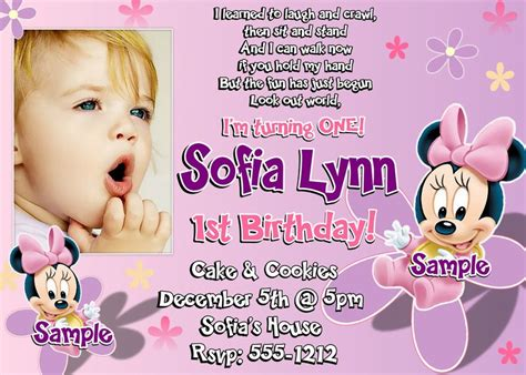 st birthday invitation wording  party ideas bagvania