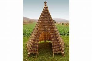 Tipi Zelt Kaufen : weiden zelt tipi 230 cm 160 cm spielzelt weidenhaus kinderzelt indianerzelt ebay ~ Frokenaadalensverden.com Haus und Dekorationen