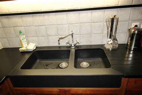 evier de cuisine noir evier cuisine noir 2 bacs evier encastrer granit et rsine