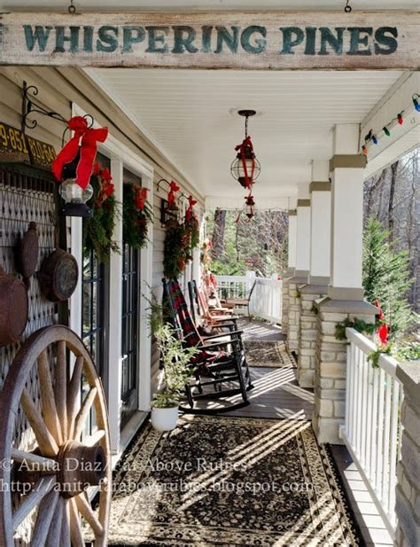 Screened In Porch Decorating Ideas And Photos by Vintage Christmas Decorating Ideas For Your Porch