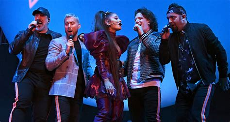 Ariana Grande Stages Nsync Reunion For Coachella Set