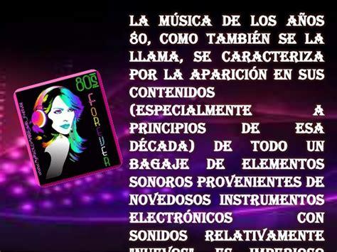 Musica En Los 80