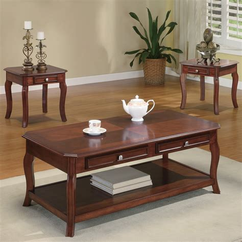three piece coffee table set coaster fine furniture 701508 three piece coffee table set